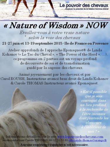 eponaquest,approche epona,carol roush,carole thomas,linda kohanov,le tao du cheval,developpement personnel,cheval, equicoaching, horse coaching
