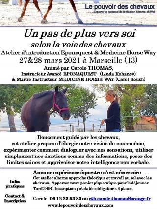 eponaquest, le tao du cheval, linda kohanov, carole thomas, développement personnel, equicoaching